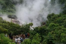 Tempat air panas tahun 2009.
