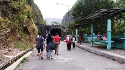 Menuju terowongan yang menjadi jalan ke kawah/anak gunung kelud.